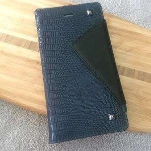 Navy IPhone 8+ or 7+ Wallet Case